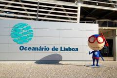 Het aquarium van Lissabon Stock Foto