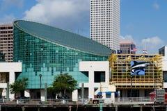 Het aquarium van New Orleans Stock Foto