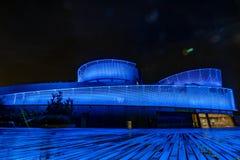 Het Aquarium van New York een Nacht royalty-vrije stock fotografie