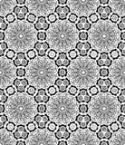 Het Arabische patroon van het mandala witte patroon vector illustratie
