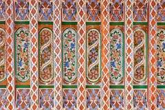 Het Arabische schilderen Stock Foto