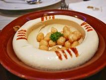 Het Arabische voedsel van de Hammuspinda stock afbeeldingen