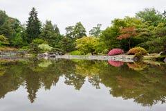 Het Arboretum van het Park van Washington Stock Foto's