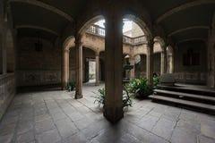 Het Archdeacon's-Huis, Barcelona, Spanje stock foto