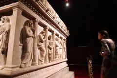 Het Archeologische Museum van Istanboel Stock Fotografie