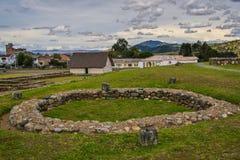 Het archeologische park in Cuenca, Ecuador Royalty-vrije Stock Afbeeldingen