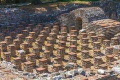 Het Archeologische Park van Dion royalty-vrije stock fotografie