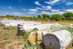 Het Archeologische Park van Dion royalty-vrije stock foto's