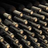 Het archief van de wijn royalty-vrije stock afbeelding