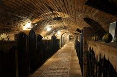 Het archief van de wijn royalty-vrije stock afbeeldingen