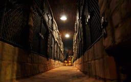 Het archief van de wijn royalty-vrije stock foto