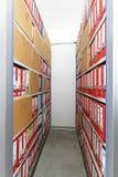 Het archief van het bureau royalty-vrije stock foto
