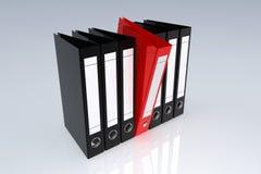 Het archiefomslagen van het bureau royalty-vrije illustratie