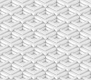 Het architecturale abstracte 3d teruggeven Stock Fotografie