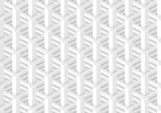 Het architecturale abstracte 3d teruggeven Stock Foto's