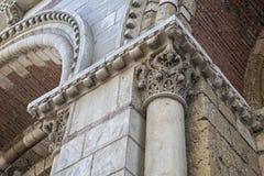 Het architecturale detail van heilige Sernin Basilica Royalty-vrije Stock Foto