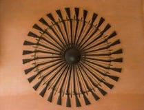 Het Architecturale Detail van het geweer royalty-vrije stock foto's