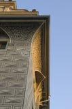 Het architecturale Kasteel van Praag van het Detail stock afbeeldingen