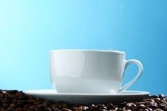 Het aroma van de koffie stock afbeeldingen