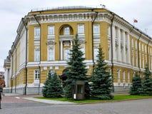 Het Arsenaal van het Kremlin in Moskou, Rusland royalty-vrije stock foto