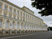 Het Arsenaal van het Kremlin in Moskou, Rusland royalty-vrije stock afbeeldingen