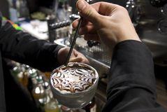 Het art. van de koffie Royalty-vrije Stock Afbeeldingen