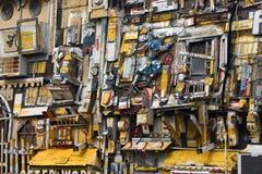 Het art. van de muur Stock Afbeelding