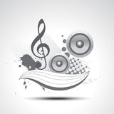 Het art. van de muziek Stock Fotografie