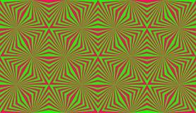 Het art. van de optische illusiedecoratie stock afbeeldingen