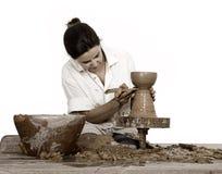 Het art. van de pottenbakker royalty-vrije stock afbeelding