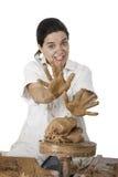 Het art. van de pottenbakker stock afbeelding