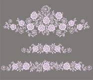 Het art. van de rozenklem vector illustratie