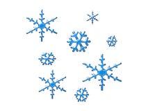 Het art. van de sneeuwvlok Stock Foto