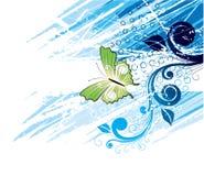 Het Art. van de vlinder Royalty-vrije Illustratie