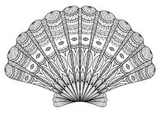 Het art. van de zeekreeftlijn stock illustratie