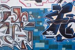 Het Art. van Graffiti Stock Afbeelding