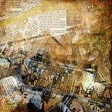 Het art. van Grunge royalty-vrije illustratie