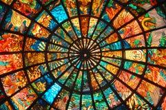 Het Art. van het gebrandschilderd glas Royalty-vrije Stock Foto