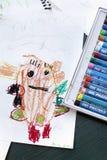 Het Art. van het kind Stock Fotografie