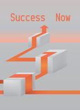 Het art. van het succesconcept Stock Foto's