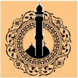 Het art. van Masjid Stock Afbeelding