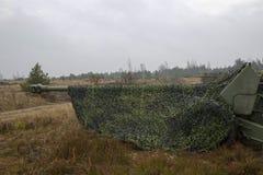 Het artilleriekanon Royalty-vrije Stock Afbeeldingen