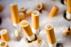 Het asbakje van de sigaret Royalty-vrije Stock Foto