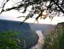 Het Aspect van de Batokakloof, Zambezi Rivier, Zimbabwe Royalty-vrije Stock Afbeelding