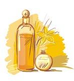 Het assortiment van Aromatherapy Royalty-vrije Stock Foto's