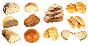 Het assortiment van de bakkerij Stock Foto's