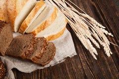 Het assortiment van het brood Stock Afbeeldingen
