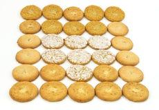 Het assortiment van het koekje Royalty-vrije Stock Foto's