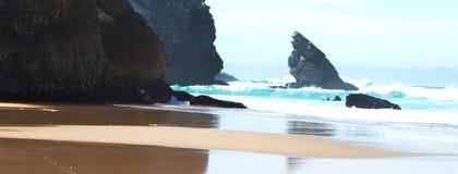 Het Atlantische strand Royalty-vrije Stock Foto's