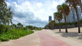 Het Atlantische Strand Florida van Maniermiami stock footage
